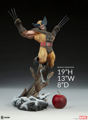Marvel Collectible X-Men Collection 20 Inch Statue Figure Premium Format - Wolverine