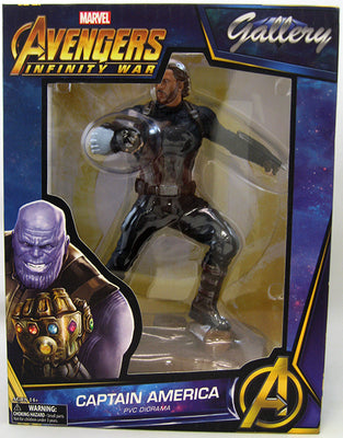 Marvel Gallery 9 Inch PVC Statue Avengers Infinity War - Captain America