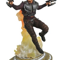 Marvel Gallery 9 Inch Statue Figure Avengers: Infinity War - Star-Lord (Shelf Wear Packaging)