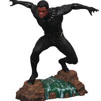 Marvel Gallery 9 Inch PVC Statue Black Panther - Unmasked Black Panther