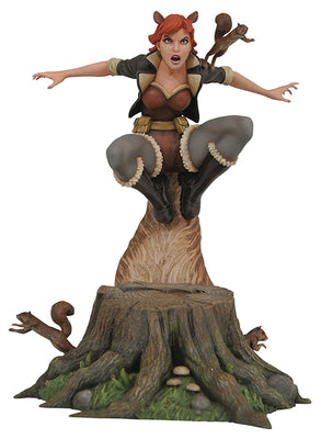 Marvel Gallery 10 Inch Statue Figure Comic Series - Squirrel Girl