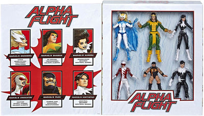 Marvel Legends 6 Inch Action Figure 80th Anniversary Box Set - Alpha Flight
