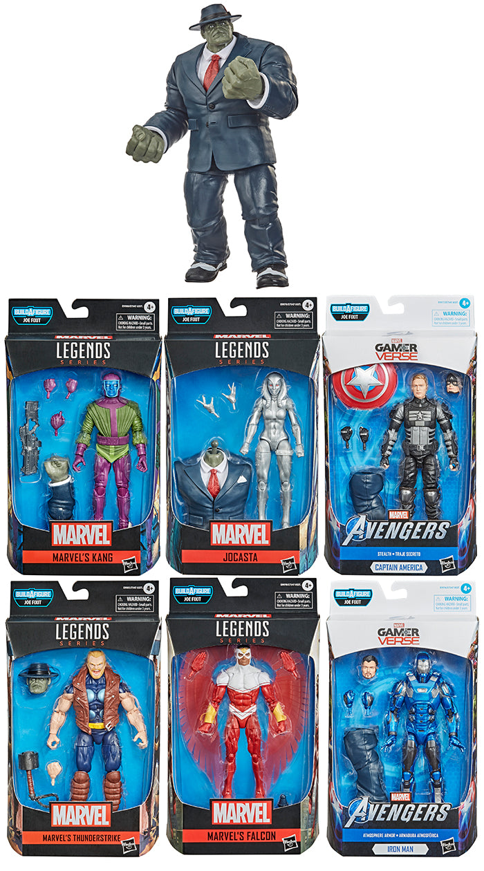 Marvel Legends Avengers 6 Inch Action Figure BAF Joe Fixit Series - Set of 6 (Build-A-Figure Joe Fixit)
