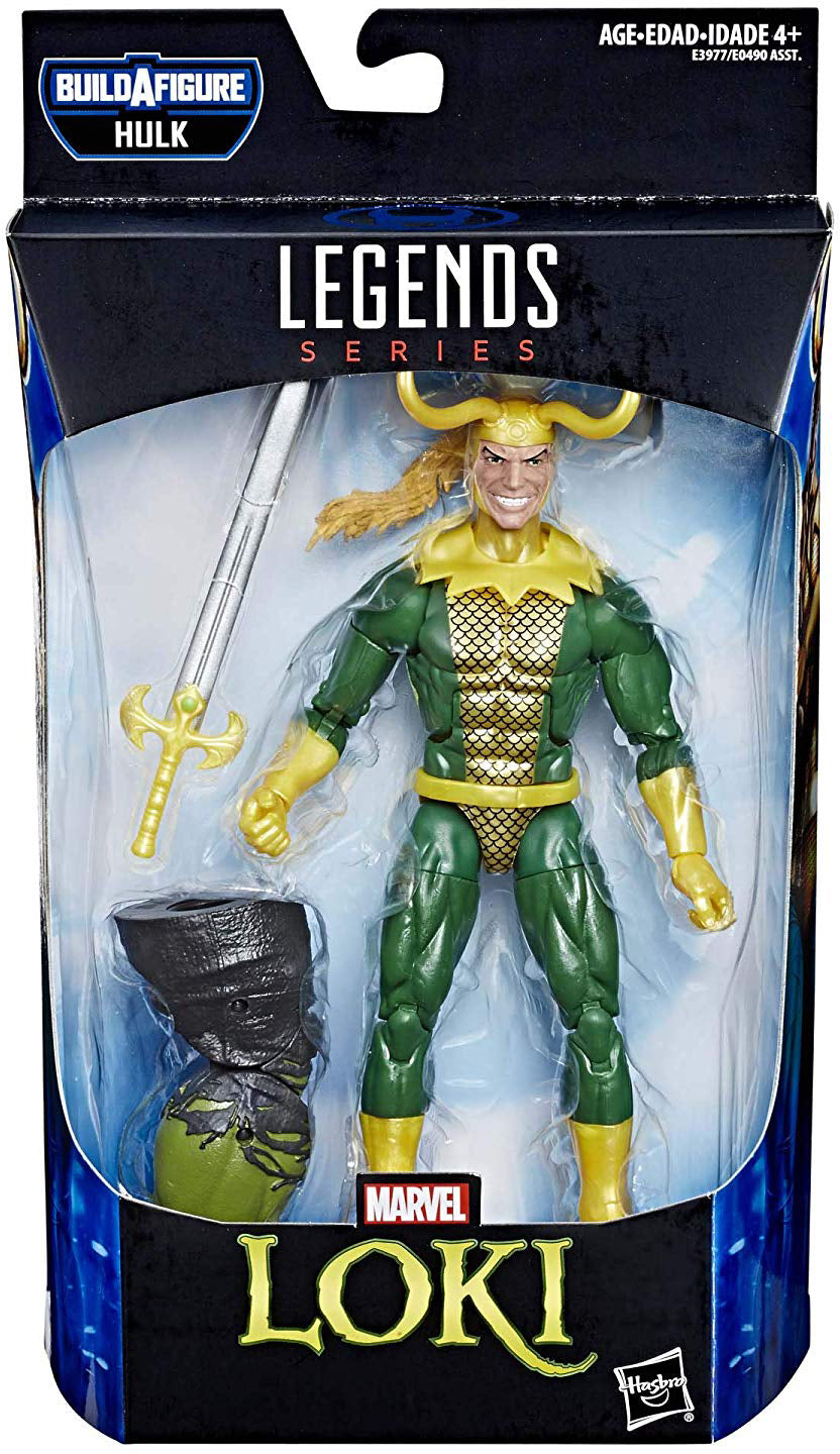 Marvel Legends Avengers Endgame 6 Inch Action Figure Hulk Series - Loki