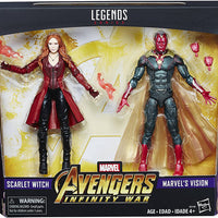 Marvel Legends Avengers Infinity War 6 Inch Action Figure 2-Pack Exclusive - Scarlet Witch & Vision