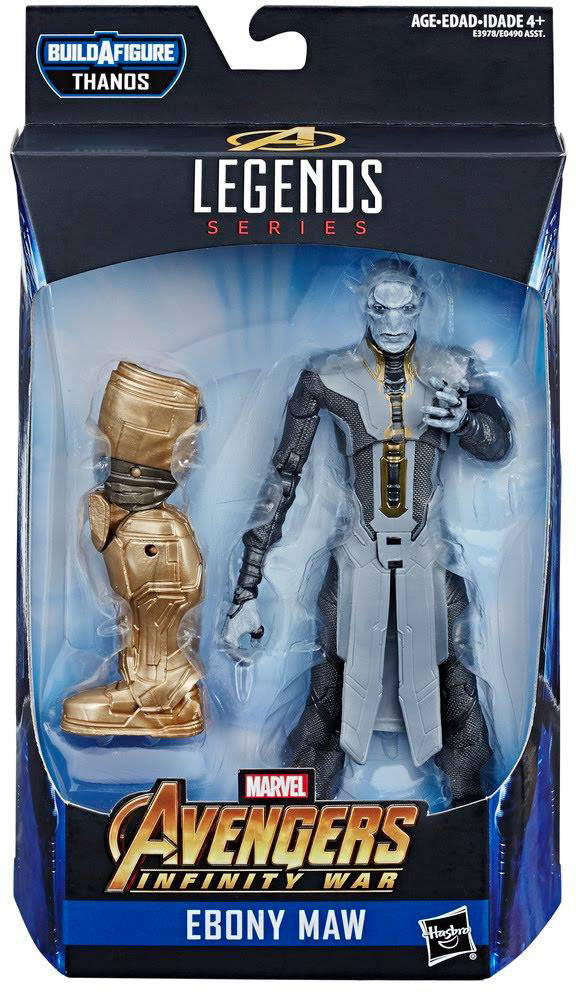 Marvel Legends Avengers 6 Inch Action Figure Armored Thanos Series - Ebony Maw