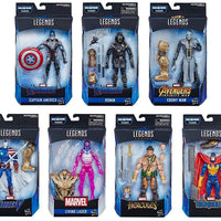 Marvel Legends Avengers 6 Inch Action Figure Armored Thanos Series - Set of 7 (Build-A-Figure Armored Thanos)