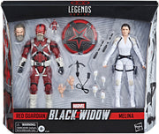 Marvel Legends Black Widow 6 Inch Action Figure 2-Pack - Red Guardian & Melina Vostkoff