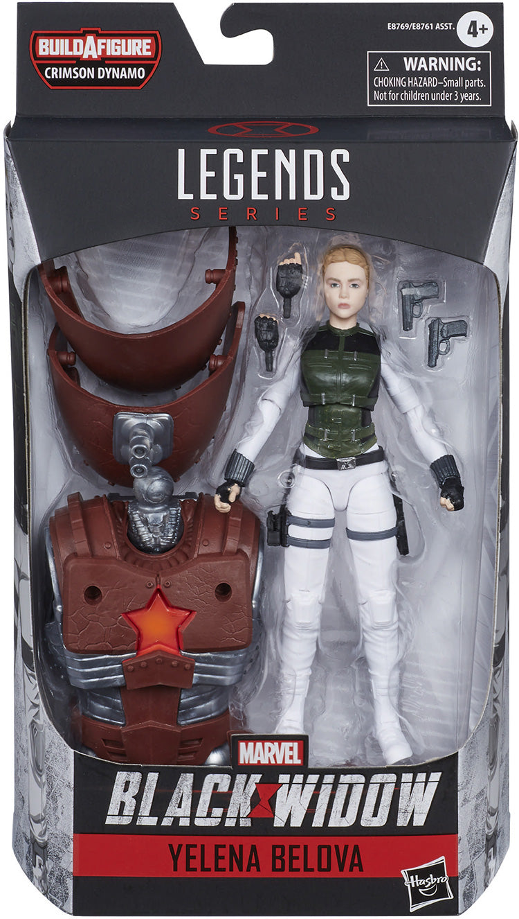 Marvel Legends Black Widow 6 Inch Action Figure Crimson Dynamo Series - Yelena Bolova