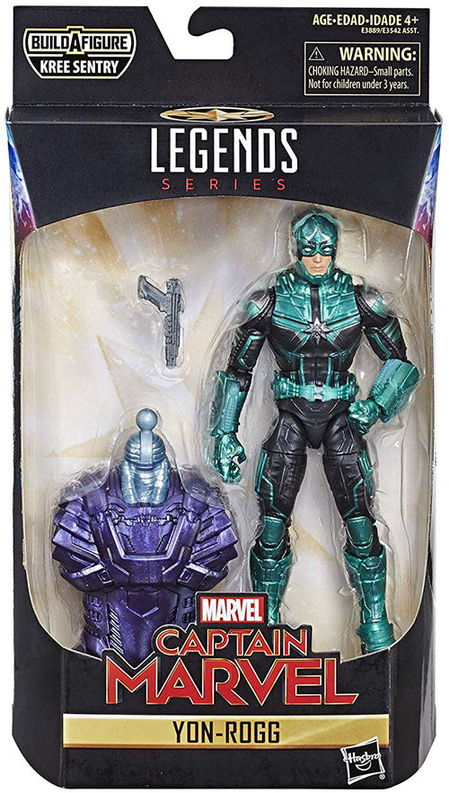Marvel Legends Captain Marvel 6 Inch Action Figure Kree Sentry Series - Yon-Rogg