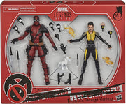 Marvel Legends Deadpool 6 Inch Action Figure 2-Pack - Deadpool and Negasonic Teenage Warhead