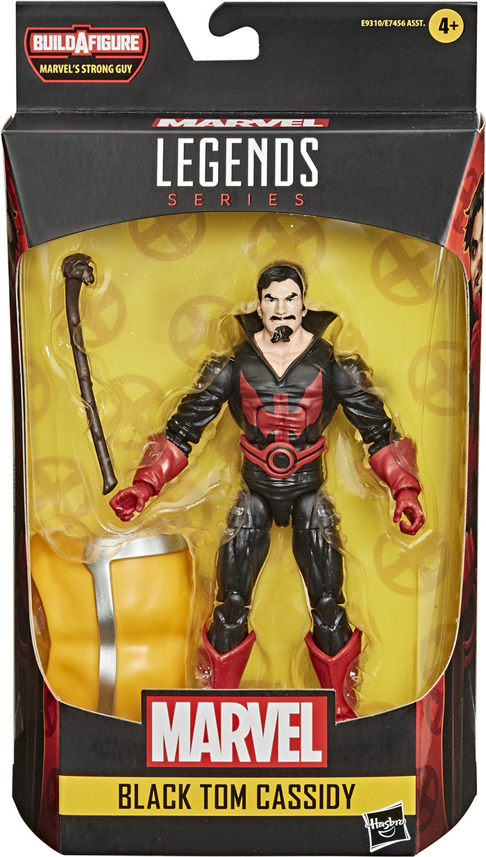 Marvel Legends Deadpool 6 Inch Action Figure BAF Strong Guy Series - Black Tom Cassidy