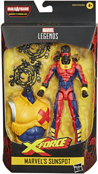 Marvel Legends Deadpool 6 Inch Action Figure BAF Strong Guy Series - Sunspot