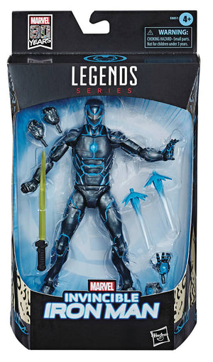 Marvel Legends 6 Inch Action Figure Exclusive - Stealth Suit Invincible Iron