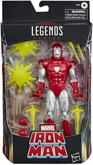 Marvel Legends 6 Inch Action Figure Exclusive - Silver Centurion Iron Man