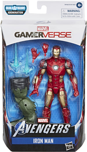 Marvel Legends 6 Inch Action Figure Gamerverse Abomination Series - Iron Man