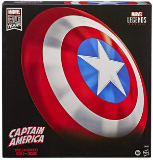 Marvel Legends Gear Full Scale Prop Replica 80 Year Anniversary - Captain America Shield Classic