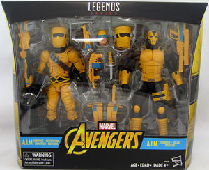 Marvel Legends Infinite 6 Inch Action Figure 2-Pack Series - A.I.M Troop Builder