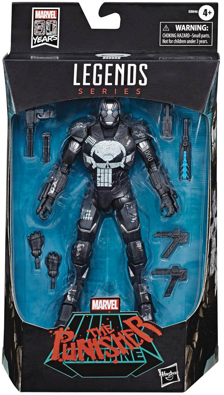 Marvel Legends Infinite 6 Inch Action Figure 80 Year Anniversary - War Machine Punisher