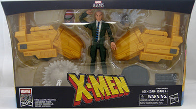 Marvel Legends Infinite 6 Inch Action Figure & Vehicle Set Riders Series - Professor X with Hover Chair