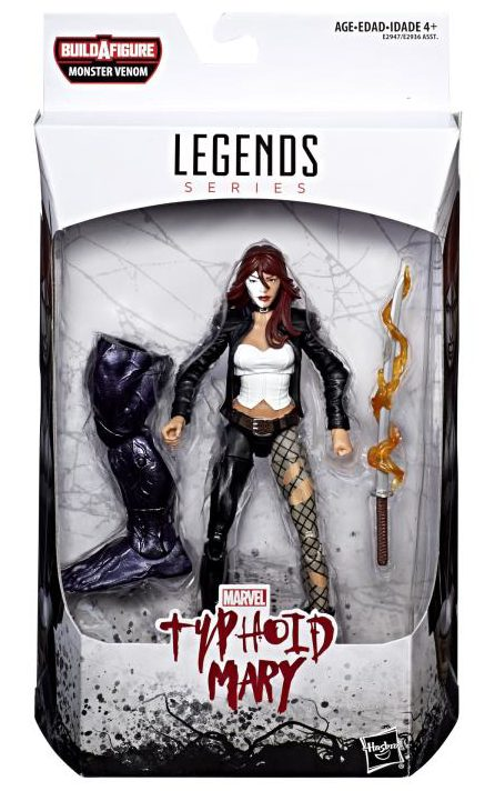 Marvel Legends Spider-Man 6 Inch Action Figure Monster Venom Series - Typhoid Mary
