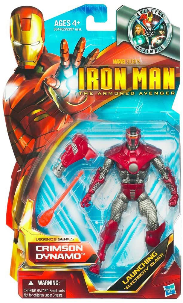 Marvel Legends Iron Man 6 Inch Action Figure - Crimson Dynamo