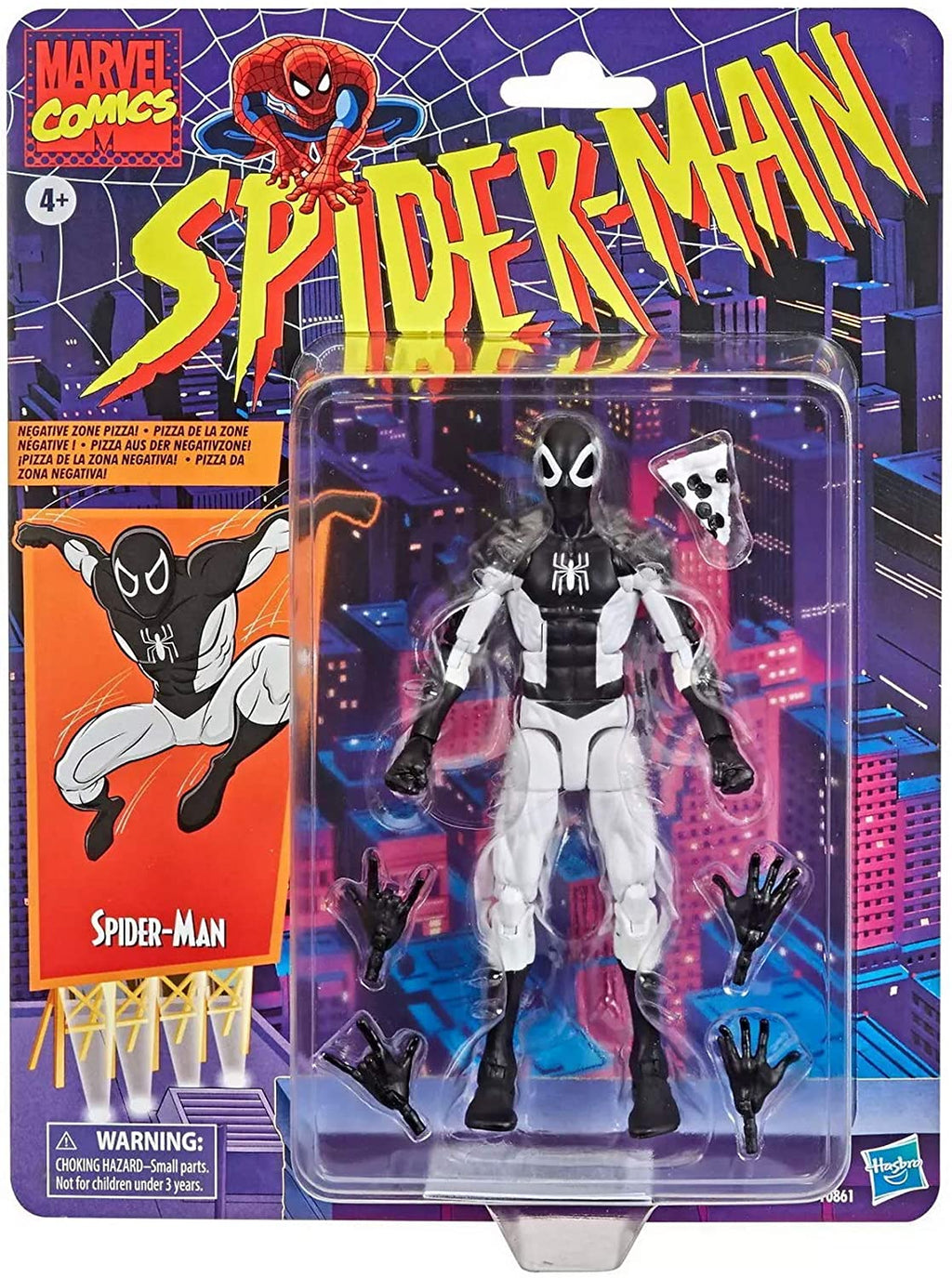 Marvel Legends Retro 6 Inch Action Figure Spider-Man Exclusive - Negative Zone Spider-Man