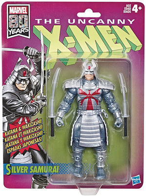 Marvel Legends Retro 6 Inch Action Figure X-Men Series 1 - Silver Samurai