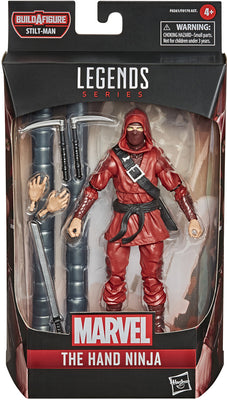 Marvel Legends Spider-Man 6 Inch Action Figure BAF Stilt-Man - Hand Ninja