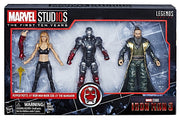 Marvel Legends Studios 6 Inch Action Figure 10th Anniversary Series - Pepper Potts - Iron Man Mark XXII - The Mandarin