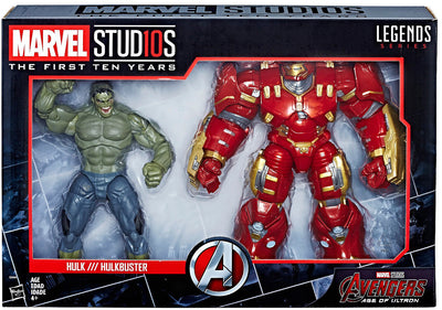 Marvel Legends Studios 8 Inch Action Figure 10th Anniversary Series - Hulk vs Hulkbuster