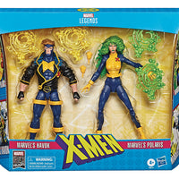 Marvel Legends X-Men 6 Inch Action Figure 2-Pack Series - Havok & Polaris