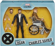 Marvel Legends X-Men Movie 6 Inch Action Figure Exclusive - Logan and Charles Xavier