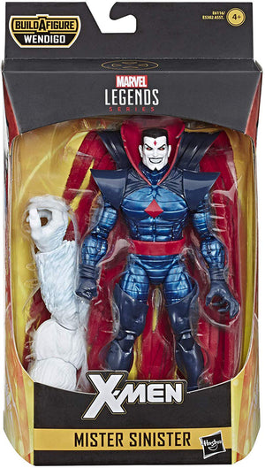Marvel Legends X-Men 6 Inch Action Figure Wendigo Series - Mister Sinister