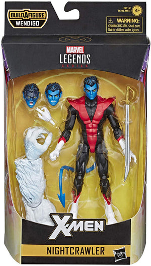 Marvel Legends X-Men 6 Inch Action Figure Wendigo Series - Nightcrawler