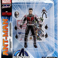 Marvel Select 7 Inch Action Figure Ant-Man - Unmasked Ant-Man Exclusive
