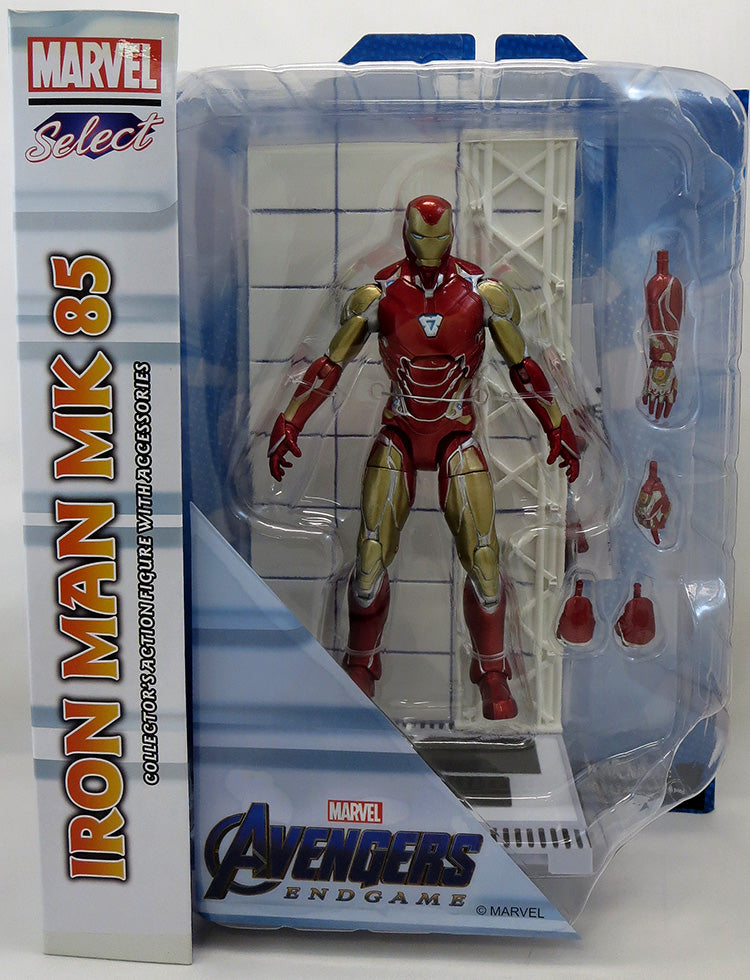 Marvel Select 7 Inch Action Figure Avengers 4 - Iron Man Mark 85