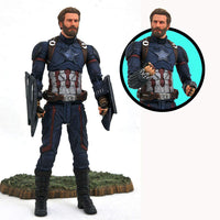 Marvel Select 7 Inch Action Figure Avengers Infinity War - Captain America
