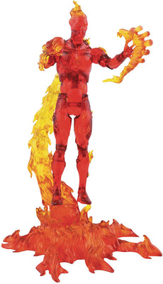 Marvel Select Fantastic Four 7 Inch Action Figure - Human Torch