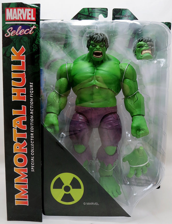 Marvel Select Hulk Comics 9 Inch Action Figure - Immortal Hulk