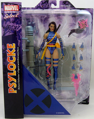 Marvel Select 7 Inch Action Figure X-Men - Psylocke