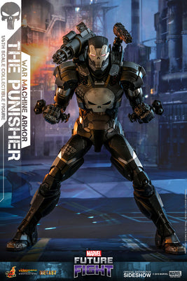 Marvel The Punisher 12 Inch Action Figure Movie Masterpiece 1/6 Scale - The Punisher War Machine Armor Hot Toys 904324