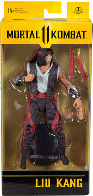Mortal Kombat 11 7 Inch Action Figure Wave 5 - Liu Kang