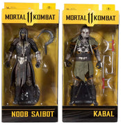 Mortal Kombat 11 7 Inch Action Figure Wave 6 - Set of 2 (Noob - Kabal)