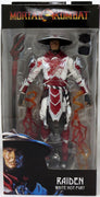 Mortal Kombat 4 7 Inch Action Figure - Raiden White Hot Fury Bloody