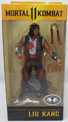 Mortal Kombat 7 Inch Action Figure Platinum Edition - Liu Kang Bloody Variant