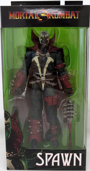 Mortal Kombat Spawn 7 Inch Action Figure Wave 2 - Spawn with Mace