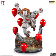 Movie Horror 1:10 Art Scale 8 Inch Statue Figure - Pennywise Deluxe Iron Studios 906684