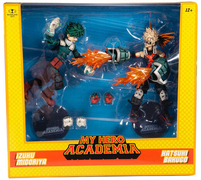 My Hero Academia 6 Inch Action Figure 2-Pack Exclusive - Izuku Midoriya & Katsuki Bakugo