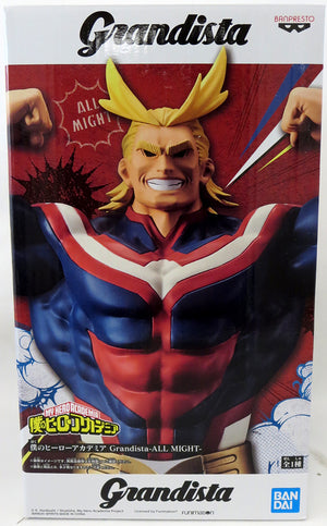 My Hero Academia Grandista 11 Inch Statue Figure - All Might